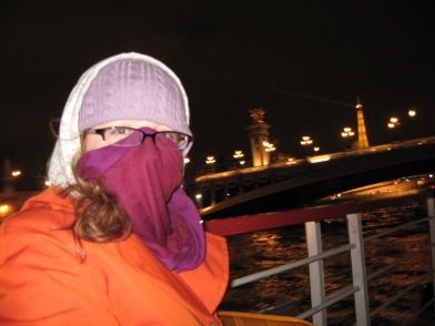 cold, cold on the Seine